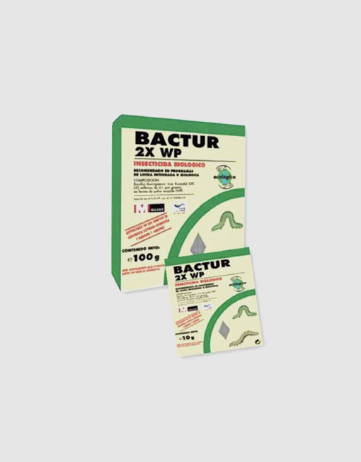 Insecticida Bactur 2X WP